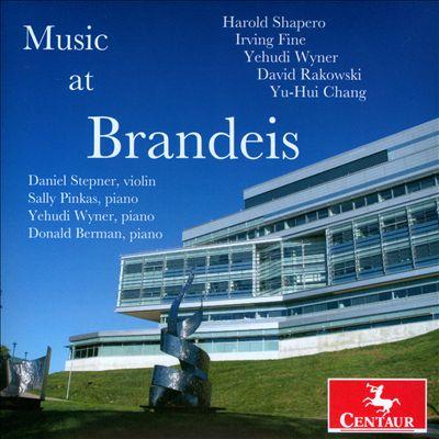 Music at Brandeis