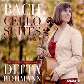 Bach: Cello Suites Nos. 2, 4, 6
