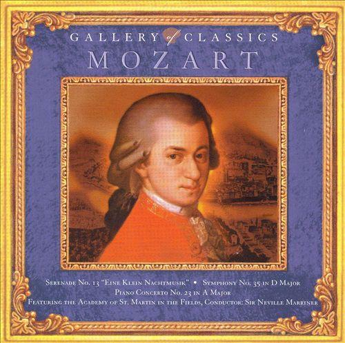 Gallery of Classics: Mozart