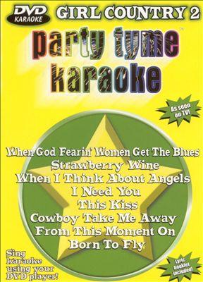 Party Tyme Karaoke: Girl Country, Vol. 2 [DVD]