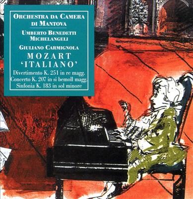 """Mozart """"Italiano"""""""