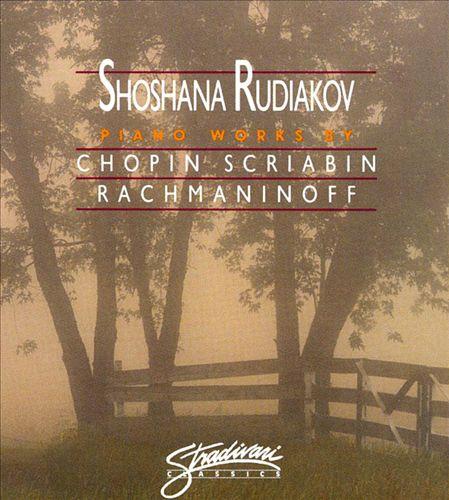 Piano Works by Rachmaninov, Skryabin and Chopin