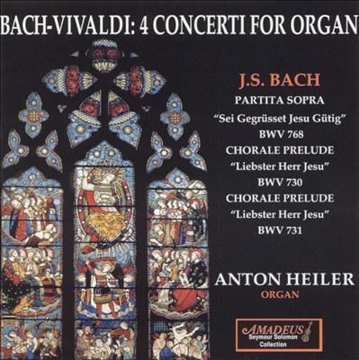 Concerto for solo organ No. 1 in G major, BWV 592 (BC J88) (after Duke Johann Ernst)