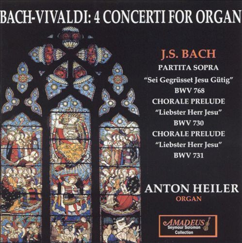 Bach-Vivaldi: 4 Concertos for Organ