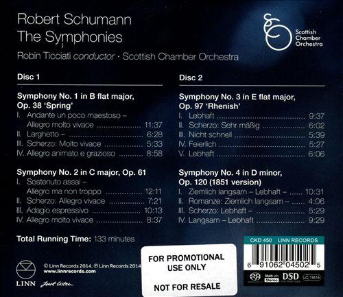 Robert Schumann: The Symphonies