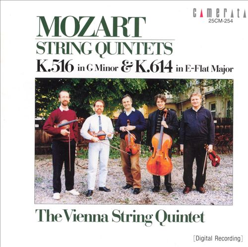 Mozart: String Quintets, K516 & K614