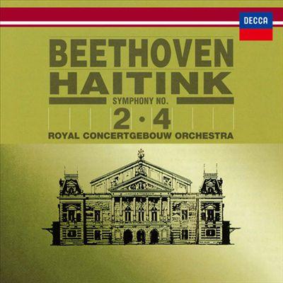 Beethoven: Symphonies Nos. 2, 4