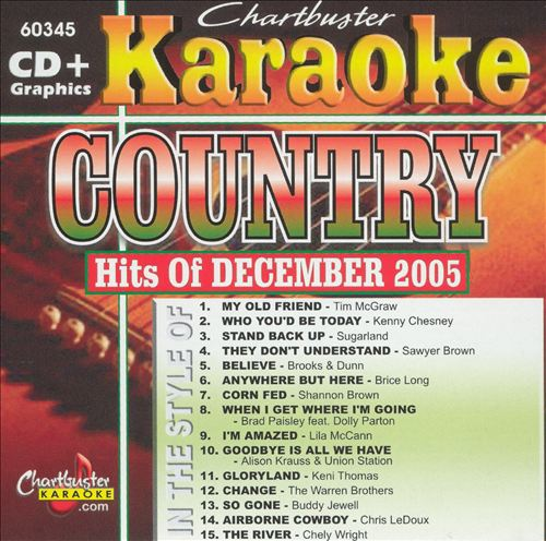 Country Hits of December 2005