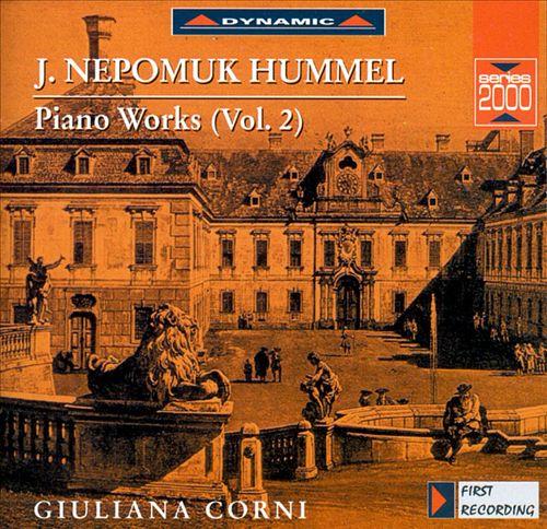 Hummel: Piano Works, Vol. 2