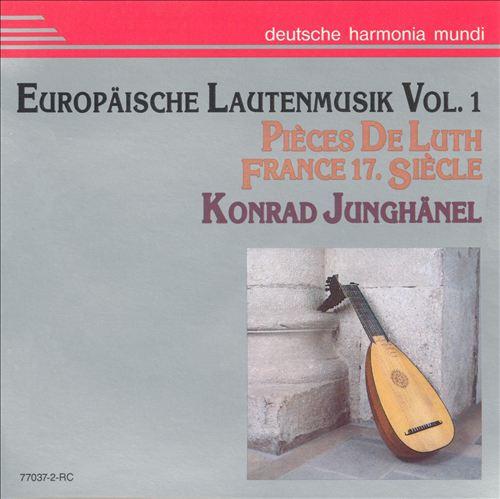 European Lute Music Music Vol.1: !7th Century France
