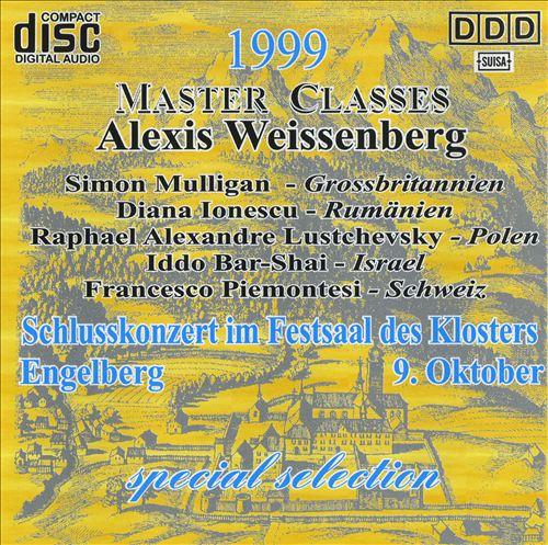 Alexis Weissenberg Master Classes: Highlights des Schlusskonzerts 1999