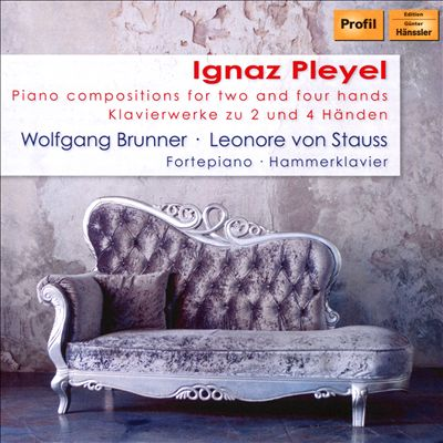 Ignaz Pleyel: Piano Compositions for Two and Four Hands