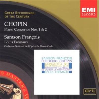 Conc. Piano 1, 2 - S. Francois, Fremaux