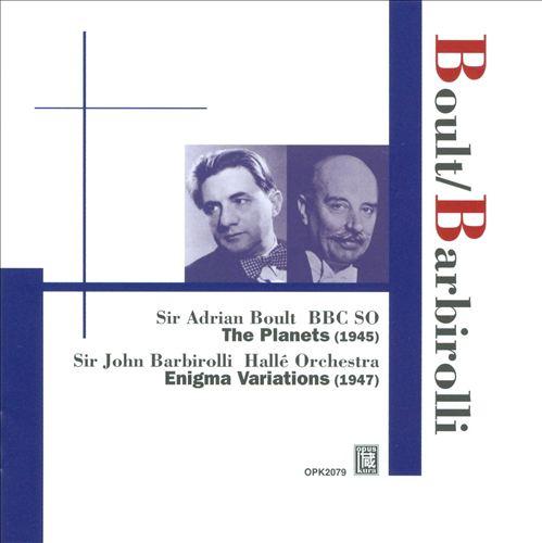 Holst: The Planets; Elgar: Enigma Variations