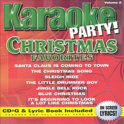 Karaoke Party! Christmas Favorites, Vol. 2