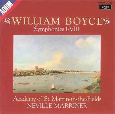 William Boyce: Symphonies I-VIII