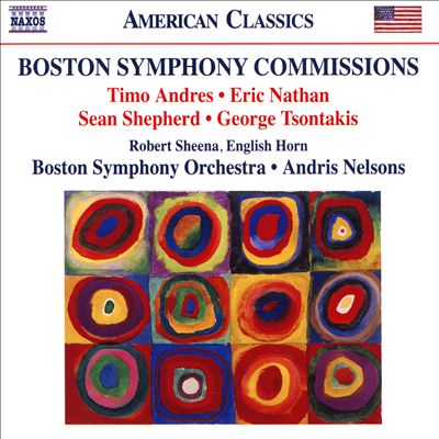 Boston Symphony Commissions: Timo Andres, Eric Nathan, Sean Shepherd, George Tsontakis