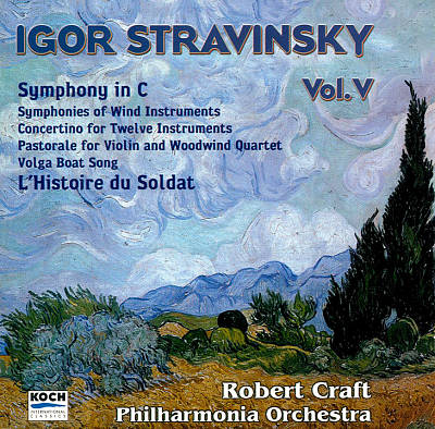 Igor Stravinsky, Vol. 5