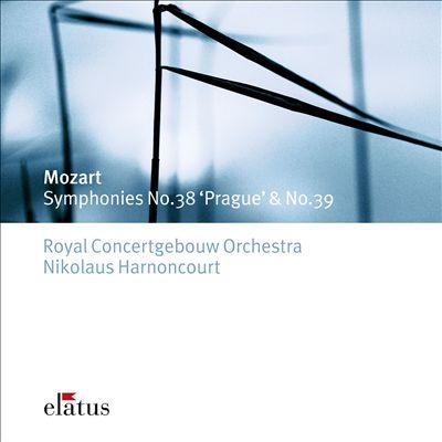 Mozart: Symphonies Nos. 38 'Prague' & 39 [United Kingdom]
