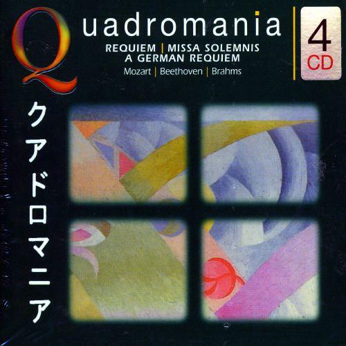 Mozart: Requiem K. 626; Faure: Requiem Op.48; Brahms: German Requiem [Germany]