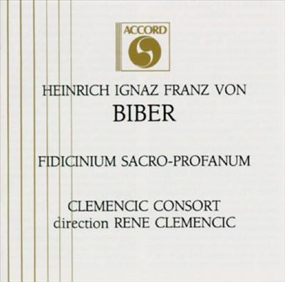 Heinrich Ignaz Franz von Biber: Fidicinium Sacro-Profanum