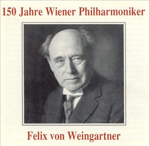 Felix von Weingartner Directs the Vienna Philharmonic