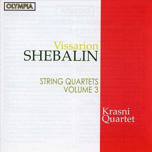 Shebalin: String Quartets 6, 7, 8