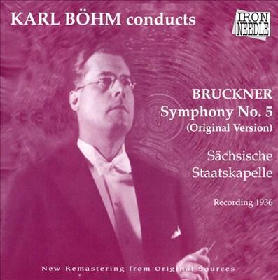Bruckner: Symphony No.5 (Original Version)