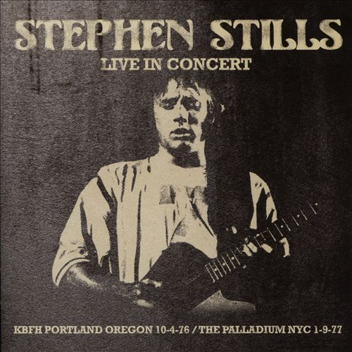 Live in Concert:KBFH Portland Oregon 10-4-76/The Palladium NYC 1-9-77