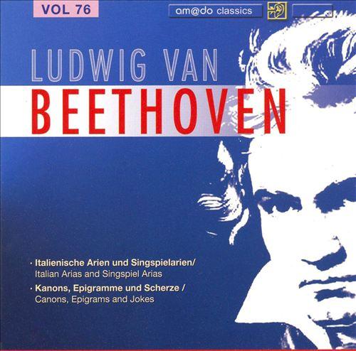 Beethoven: Complete Works, Vol. 76
