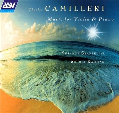 Camilleri: Music for violin & piano