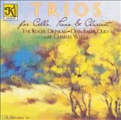 Trios for Clarinet, Piano & Cello