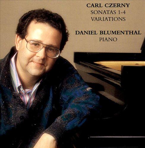 Czerny: Piano Sonatas 1-4; Variations