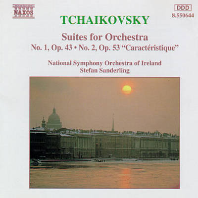 Tchaikovsky: Suites for Orchestra Nos. 1 & 2