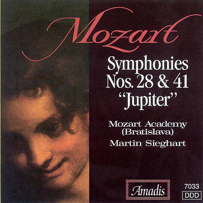 "Mozart: Symphonies Nos. 28 & 41 (""Jupiter"")"
