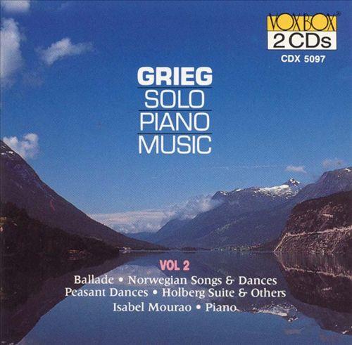 Grieg: Solo Piano Music