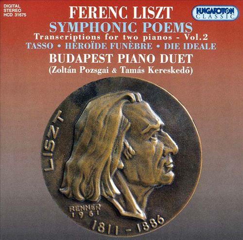 Liszt: Symphonic Poem Transcriptions