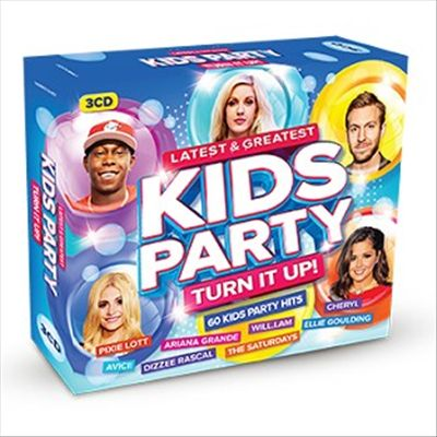 Latest & Greatest Kids Party: Turn it Up!