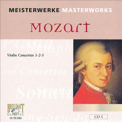 Mozart: Violin Concertos 1-2-3