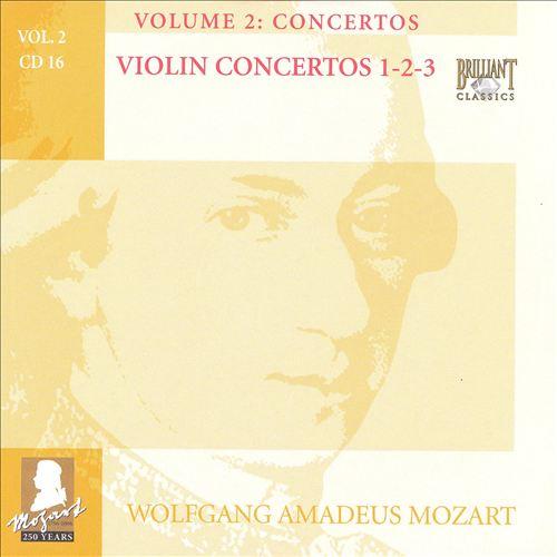 Mozart: Complete Works, Vol. 2 - Concertos, Disc 16