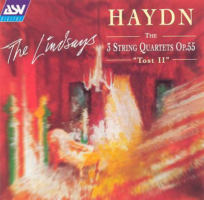 "Haydn: The 3 String Quartets Op. 55 ""Tost II"""