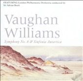 Vaughan Williams: Symphony No. 8; Sinfonia Antartica