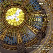 Otto Nicolai: Messe in D