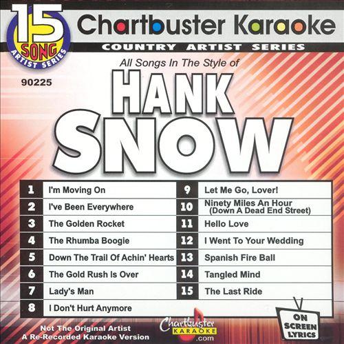 Chartbuster Karaoke: Hank Snow