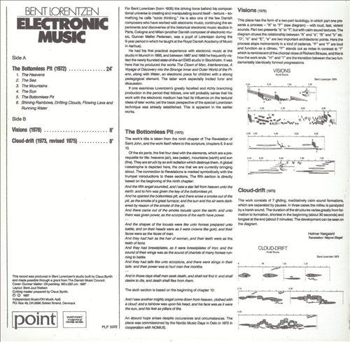 Bent Lorentzen: Electronic Music