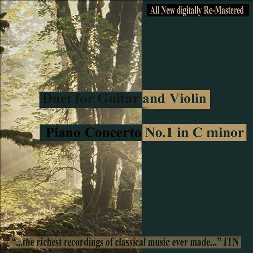 Gragnani: Duet for Guitar & Violin; Shostakovich: Piano Concerto No. 1; Prokofiev: Cello Works