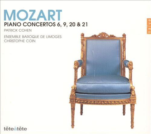 Mozart: Piano Concertos 6, 9, 20 & 21