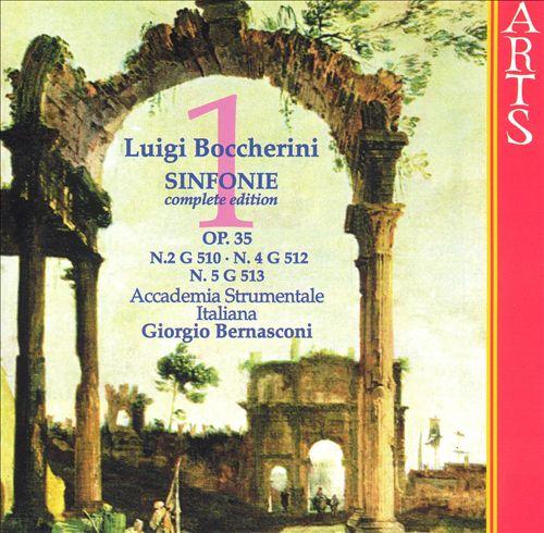 Boccherini: Sinfonie, Vol. 1