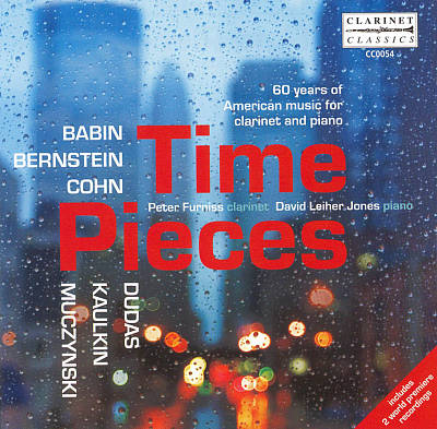 Time Pieces: 60 years of American music for clarinet and piano
