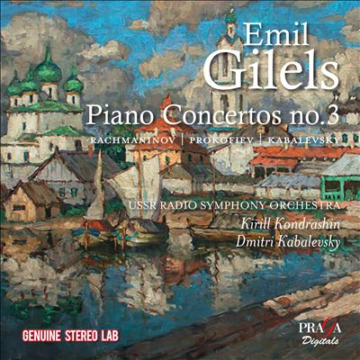 Gilels plays Russian Piano Concertos